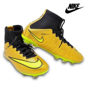 Kit 2 Pares Chuteira Nike Mercurial Botinha Trava Campo