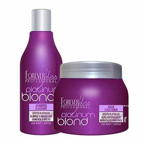 Shampoo Mascara Matizador Desamarelador Forever Liss Blond