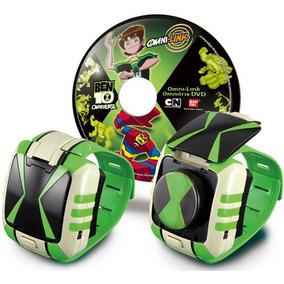 Ben 10 Omnitrix De Lujo Con Dvd 32730