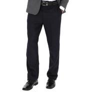 Pantalón De Vestir Para Hombre. Sin Pinzas, Corte Amplio.