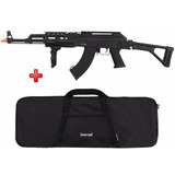 Rifle Airsoft Elétrico Cyma Ak-47 Full Metal Bivolt + Capa