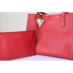 Bolsas Guess Original Nueva Color Roja Envío Gratis (85)