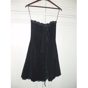 Vestido Strapless Ona Saez - Negro