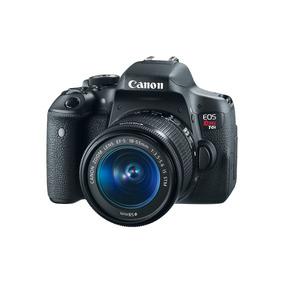 Camara Canon Eos Rebel T6i Ef 18-55 Is + Obsequios
