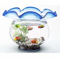 Peixe Artificial Flutuante Decorativo Para Aquário Ornamento