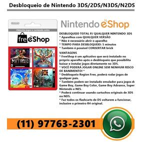 Desbloqueio Permanente Nintendo 3ds (todas As Versões)