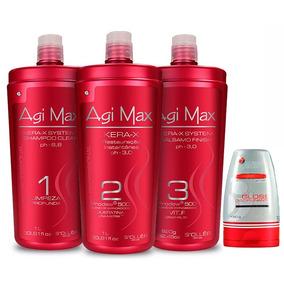 Kit Agi Max Red Kera-x 3x1000 -original-lj Autorizada+brinde