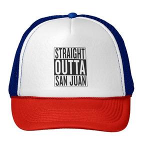 Gorra Trucker Camionero Outta Recto San Juan
