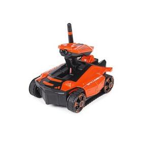 Drone Spy Tank Terrestre Con Camara, Wifi, Color Naranja / N