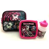 Lancheira Escolar Térmica Monster High 16z Original Sestini