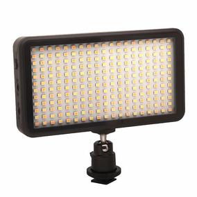 Iluminador Led 228 Leds + Bateria Foto Video Dslr Nikon W228