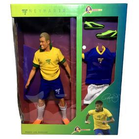Boneco Grande Jogador Futebol Brasil Neymar Jr - Cosmokids
