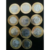 Coleccion D 14 Monedas D $20 Y $10 Conmemorativas No Subasta