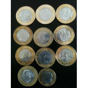 Coleccion De 13 Monedas De 20 Y 10 Pesos Conmemorativas