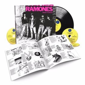 Ramones Rocket To Russia Deluxe Boxset 3 Cds + Vinilo