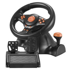 Volante Wireless Racer Para Pc Kit Completo Js074 Multilaser