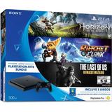 Sony Ps4 Slim 500gb Horizon, Ratchet & Clan, The Last Of Us