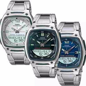 Relógio Casio Aw-81 - Pulseira Aço Inox Ou Resina