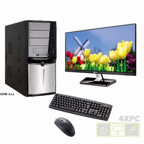 Computadora Intel Core I3 Con Monitor Nuevas Tienda 4xpc