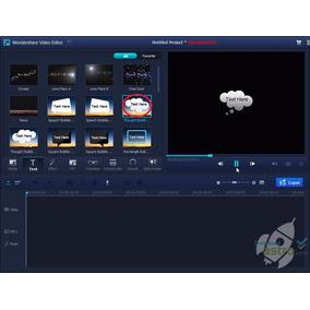 Wondershare Video Programa Para Editar Video
