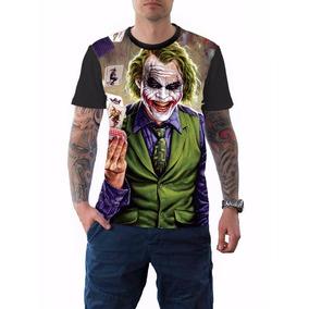 Camisa Camiseta Palhaço Coringa Jocker -cavaleiro Das Trevas