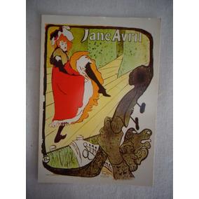 Cartão Postal Art Deco Jane Avril N°121