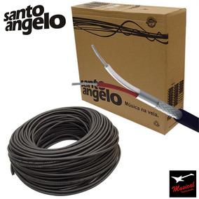 50 Metros Cabo Microfone Santo Angelo X30 Balanceado Rolo