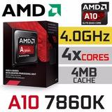 Micro Amd Apu A10-7860k X4 3.6ghz Cache 4mb Fm2+ - Cyberia