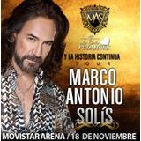 Entrada Marco Antonio Solis Platea Baja Golden $35.000