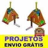 Projeto Clalandra P/ Metalon, Tubos Quadrados