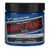 Manic Panic Tinte Cabello Semipermanente Atomic Turquoise Lm