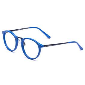 6881c4abe Armação Oculos Masculino Importado Ea29 Acetato Redondo Moda