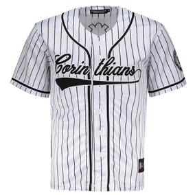 Camisa Corinthians Baseball Branca