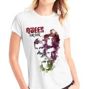 Playera Queen Rock Freddie Mercury Económica