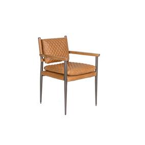 Cadeira De Couro Loretto