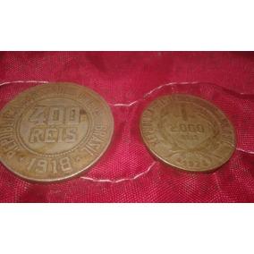 Moedas Antigas Reis 2000, 400 1924 1918
