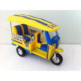 Réplica Moto Triciclo Taxi Tuk Tuk Tailandia Sunnyside 1/24