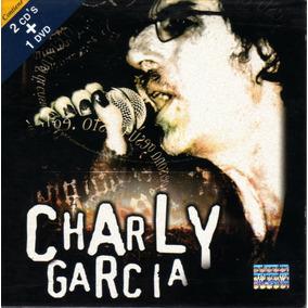 Charly García - Deluxe Sound & Vision / 2 Cds Y Dvd Original