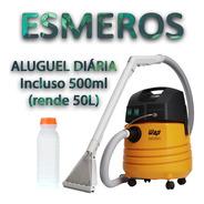 5 Diárias  Aluguel De Extratora Wap Carpet Cleaner + 500ml