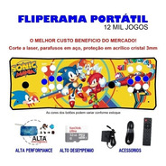 Fliperama Portátil Slim 3 Em 1 - Sonic Mania