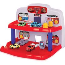 Brinquedo Infantil Filme Carros Posto De Serviços Rosita