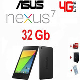 Tablet Asus Google Nexus 7 Inc 4g+wifi 32gb Quadcore Android