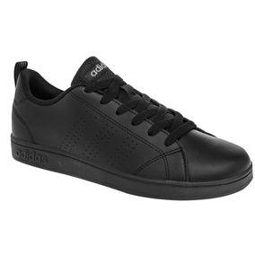 Tenis adidas Advantage Clean Negro Niño Aw4883 Originales