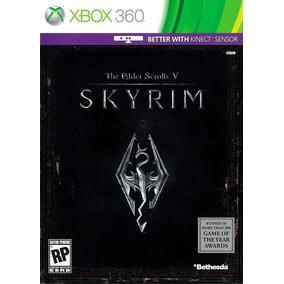 The Elder Scrolls V 5: Skyrim - Xbox 360 - Mídia Física