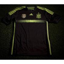 Jersey España Negro Adizero/ Campeon 2010