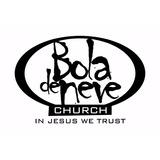 Adesivo Bola De Neve Church - In Jesus We Trust
