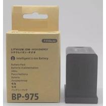 Bateria Canon Bp-975 De Íons De Lítio Inteligente (7350mah)