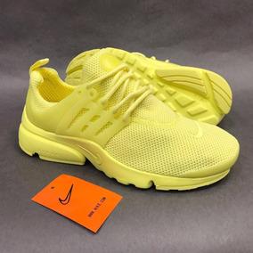 Tenis Zapatillas Nike Air Presto Custom Amarilla Envio Grati