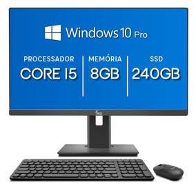 All In One 3green 24 Intel Core I5 8gb Ssd 240gb Windows 10