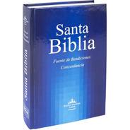 Biblia Reina Valera 1960 Letra Mayor T Dura Azul Bendiciones